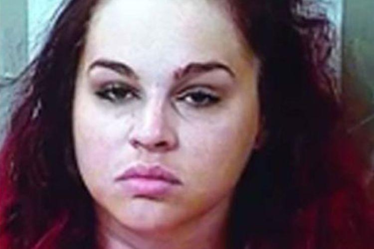 Kate Elizabeth Prichard, 25 tahun, ditangkap di sebuah motel di Murfreesboro, Tenesse, AS.