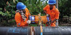 Proyek Pipa Distribusi Gas Bumi PGN di Dumai Capai 40 Persen