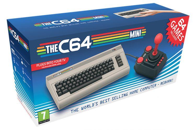 Konsol game Commodore 64 Mini.