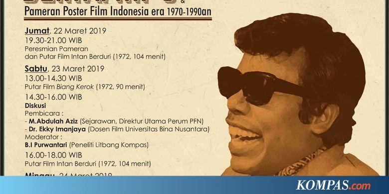Nonton Bioskop Benyamin S di Bentara Budaya Jakarta
