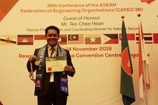 Rektor Untar Raih Pengakuan ASEAN Engineer 2018