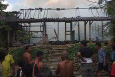 Kebakaran di Ungaran, 3 Rumah Hangus dan 2 Ekor Kambing Pingsan