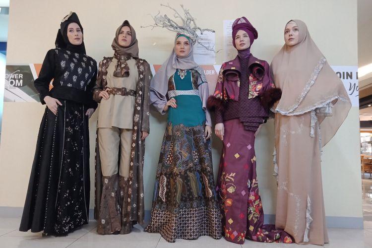 Karya lima desainer Indonesia Modest Fashion Designer (IMFD) yang akan dipamerkan padaajang fashion scout, bagian dari London Fashion Week Autumn Winter 2018.