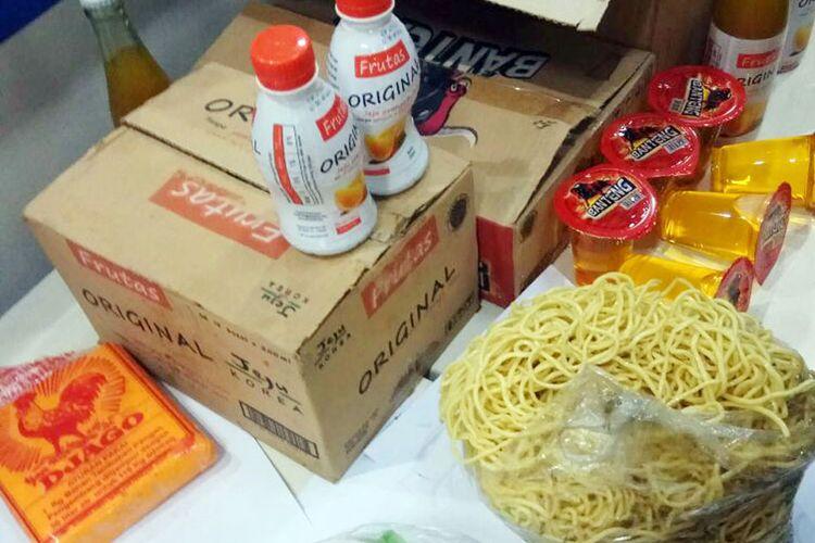 Mi basah yang mengandung boraks yang disita Badan Pengawas Obat dan Makanan (BPOM) Gorontalo.