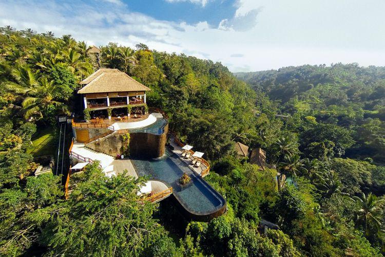 Hanging Gardes of Bali.