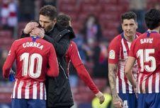 Hasil Liga Spanyol, Atletico dan Barcelona Menang Telak