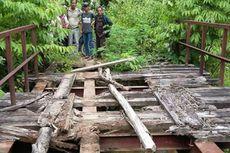 3 Tahun Jembatan Rusak, Warga Kesulitan Akses Pelayanan Kesehatan