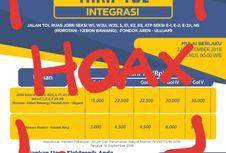 Jangan Percaya Infografis Integrasi Tol JORR Ini!