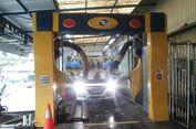 'Cuci Robot' Mobil Bersih Hanya Hitungan Menit