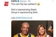 Cara Orang Tua Curry Bersaudara Beri Dukungan di Final Wilayah NBA