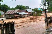 Banjir Landa Satu Desa di Bima, Satu Rumah Panggung Hanyut