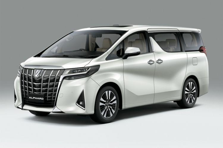 Toyota Alphard 2018.