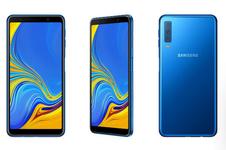 Galaxy A7 Meluncur, Ponsel 3 Kamera Belakang Pertama Samsung
