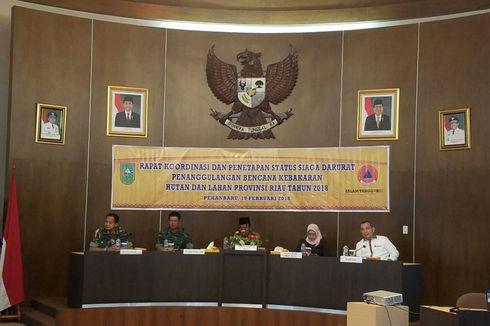 Kebakaran Hutan Kembali Terjadi, Pemprov Riau Tetapkan Status Siaga Darurat