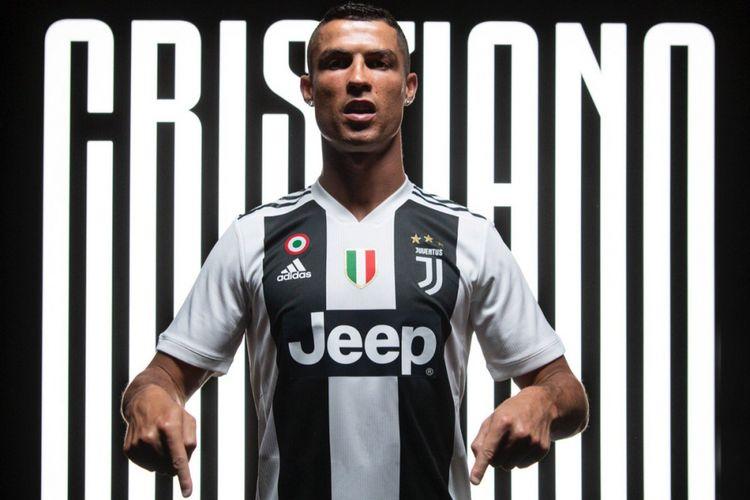 Cristiano Ronaldo mengunggah dirinya dengan kostum Juventus di akun media sosial pribadinya, 16 Juli 2018.