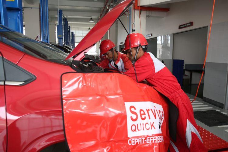 Servis di bengkel resmi Mitsubishi