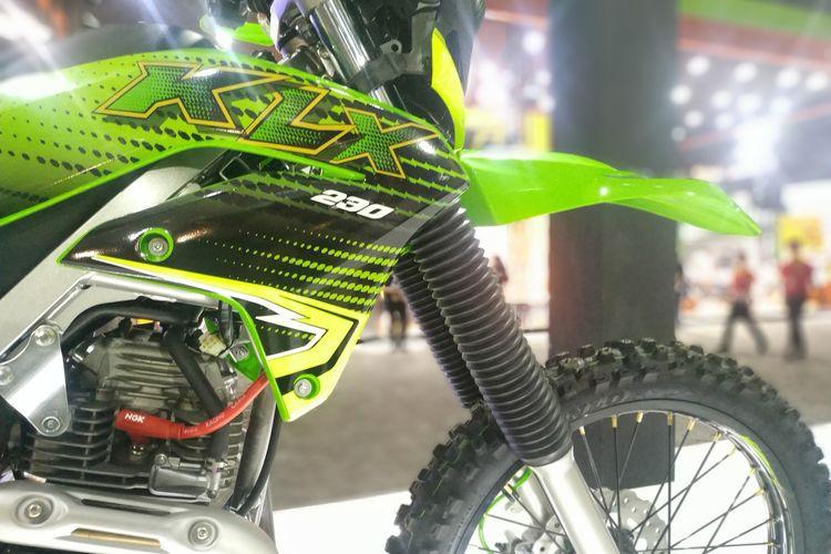 Kawasaki KLX 230 modifikasi.