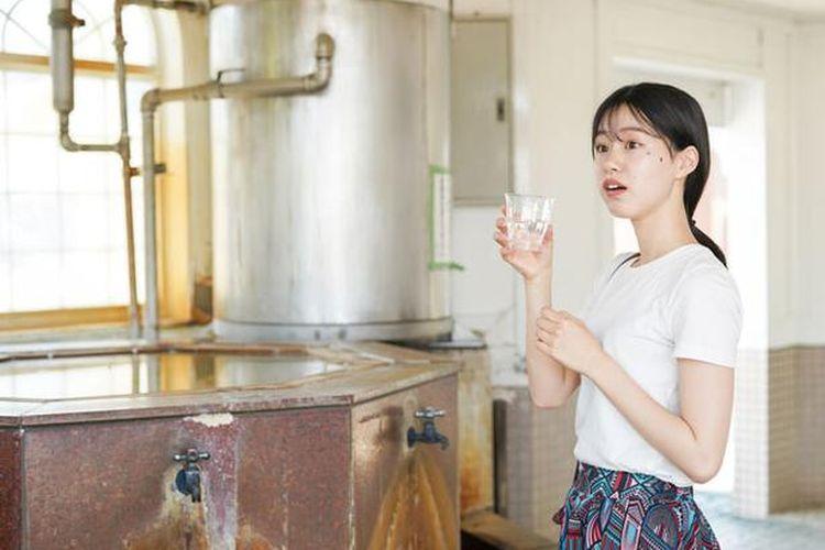 Air berkarbonasi tidak terlalu kuat dan mengandung zat besi sehingga membuatnya sehat dan mudah untuk diminum.