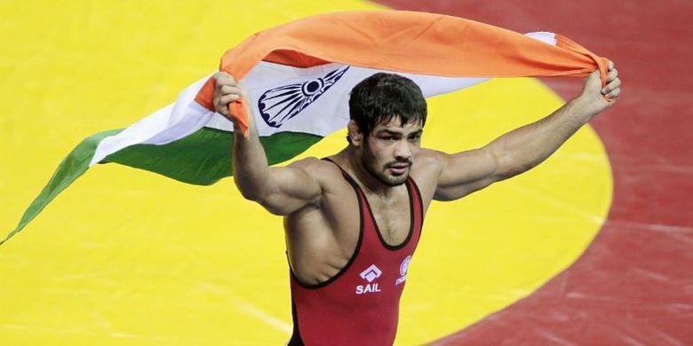 Sushil Kumar, atlet gulat India