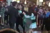 Melamar Wanita yang Sama, 2 Pria Ini Berkelahi di Tempat Umum