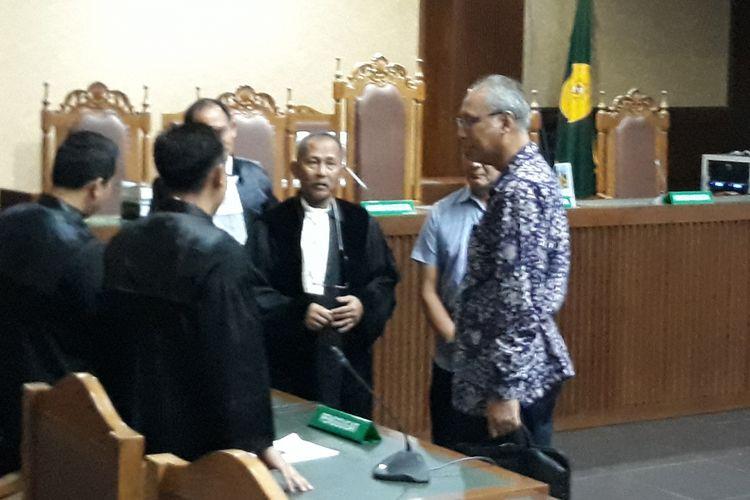 Dokter Bimanesh Sutarjo di Pengadilan Tindak Pidana Korupsi Jakarta, Kamis (8/3/2018).