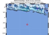 Menelusuri Riwayat Gempa Besar dan Merusak di Selatan Malang