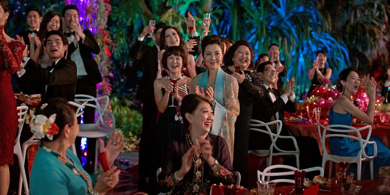 Crazy Rich Asians karya sutradara Jon M Chu