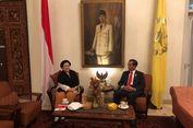 Sambil Nikmati Nasi Jambal, Jokowi dan Megawati Bahas Isu Terkini