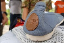 Wakai Musnahkan 2.000 Pasang Sepatu Palsu