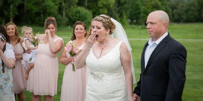 Becky Turney hanya bisa menganga ketika dia diberitahu bahwa jantung mendiang putranya masih berdetak dan hadir dalam acara pernikahannya.