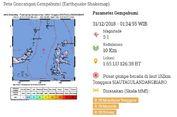 Gempa Hari Ini: Magnitudo 5,1 Guncang Sitaro