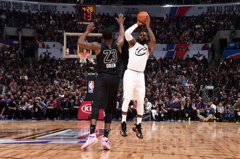 Raih MVP NBA All Star 2018, LeBron James Apresiasi Penggemar