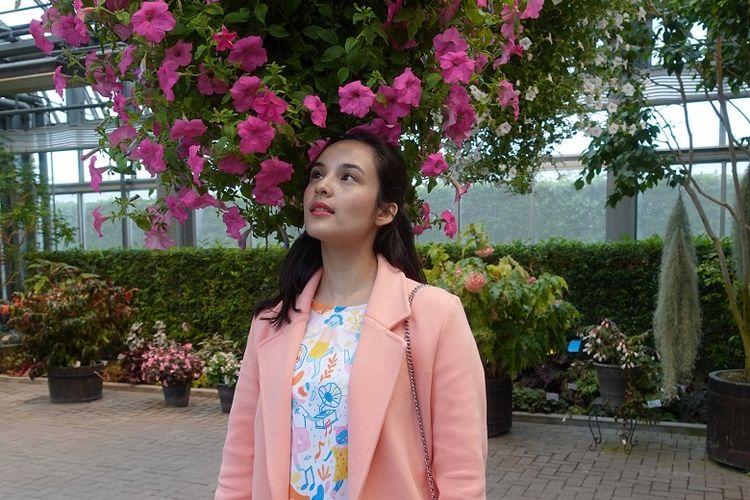 Chelsea Islan di Begonia Garden, Nagoya, Jepang.