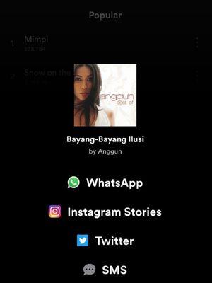 Posting Spotify Ke Instagram Stories Tanpa Screenshot Begini Caranya