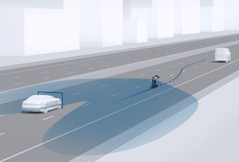 Paket Teknologi Keselamatan Baru dari Bosch buat Motor