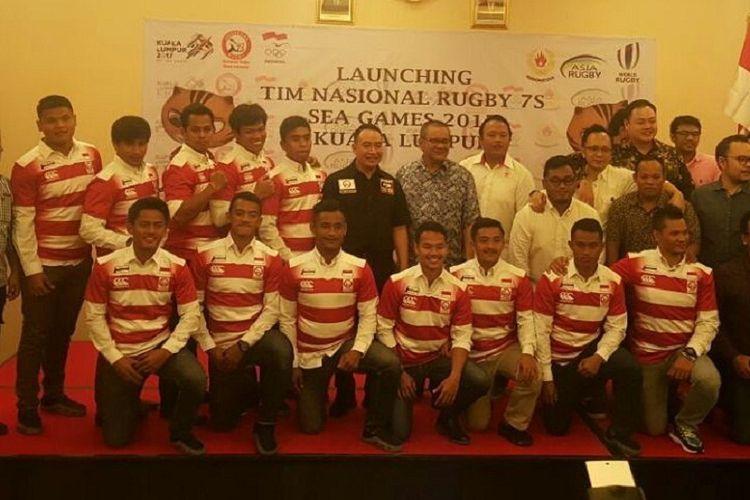 Tim nasional rugbi Indonesia akan bertanding pada ajang SEA Games 2017 di Kuala Lumpur, Malaysia.