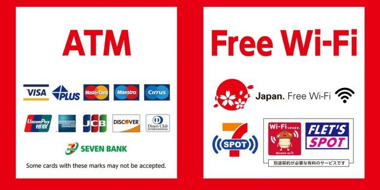 Jaringan free wifi Seven-Eleven