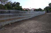 Progres Perbaikan Jalan Retak di Berlan, Beronjong Sudah Dipasang