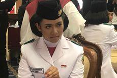 Cerita Tarissa Harus Fokus dan Menahan Senyum Saat Membawa Bendera Merah Putih di Istana
