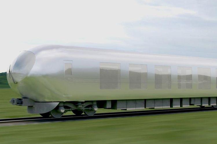 Desain kereta Laview