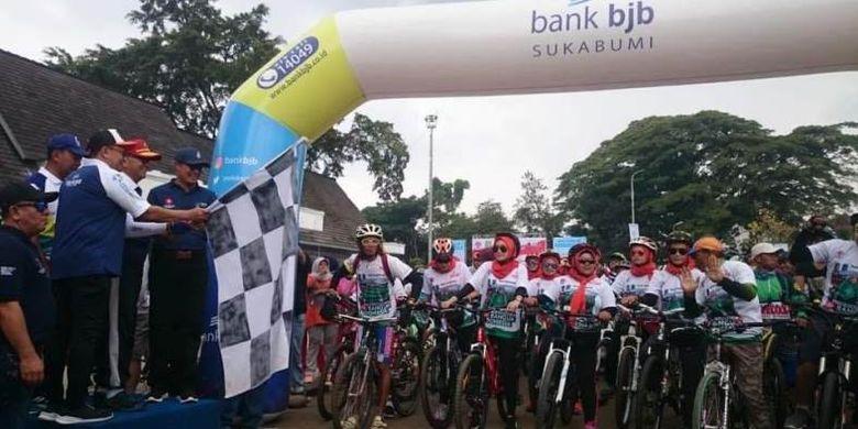 Kegiatan Sepeda Nusantara 2018 di kota Sukabumi tidak kurang diikuti oleh 2000 pesepeda yang ambil bagian, di mana Lapangan Merdeka menjadi pilihan sebagai tempat start dan finish.