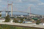 Jembatan Gantung Terpanjang di Afrika Diresmikan