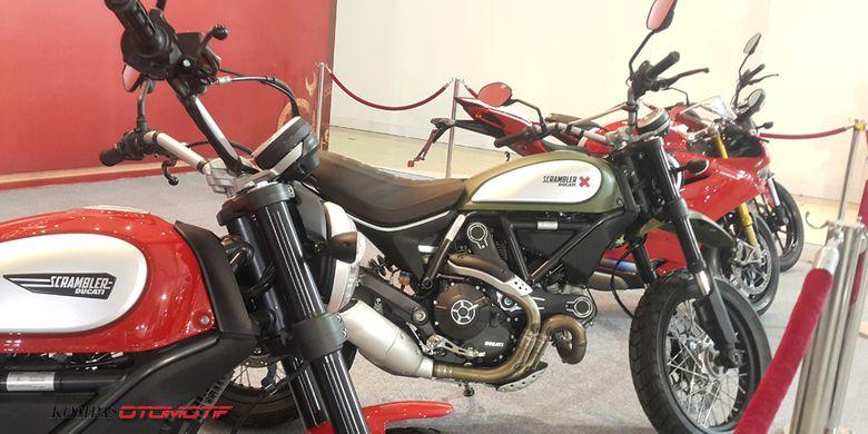 Lelang Ducati, mulai dari Scrambler sampai Panigale