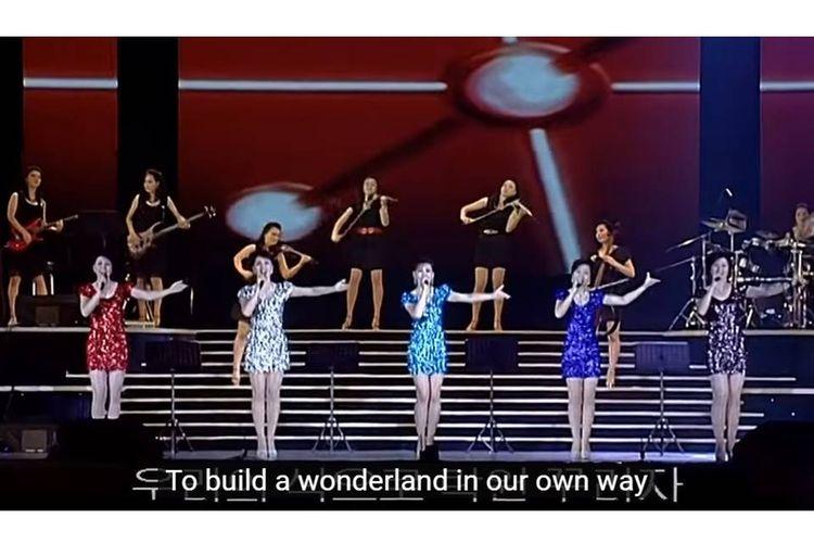 Girlband Moranbong bentukan Kim Jong Un