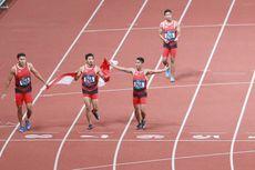 Zohri dkk Raih Medali Perak Lari Estafet Beregu Putra