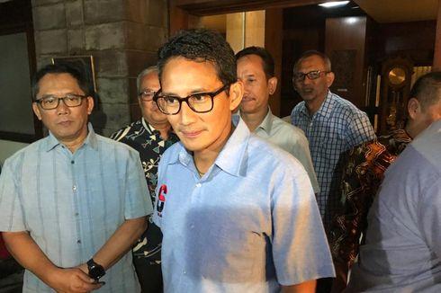 Sandiaga Uno Temui Ketua Timses Jokowi di Pilkada DKI