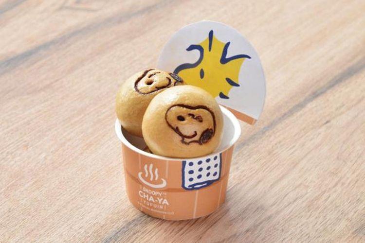Snoopy Hot Spring Manju