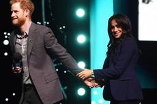 Pangeran Harry dan Meghan Markle Bikin Kejutan di WE Day