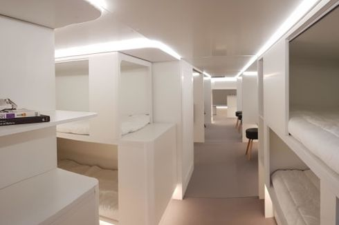 Masa Depan Kabin Pesawat, dari Kamar Kapsul sampai Kamar Suite