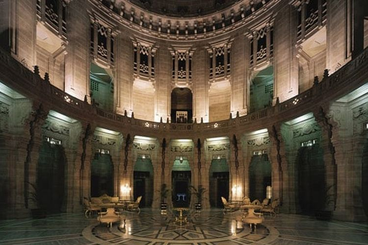 Umaid Bhawan Palace di Jodhpur, India.